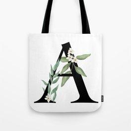 Botanical A Tote Bag