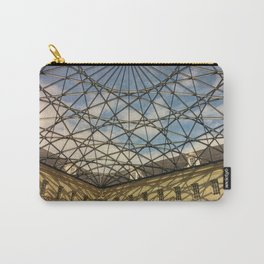 Geometric Ceiling Carry-All Pouch