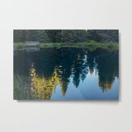Little Crater Lake 2 Metal Print