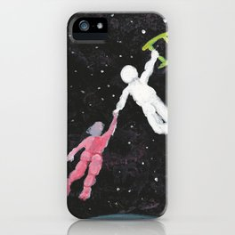 Everyone Needs a Helping Hand iPhone Case