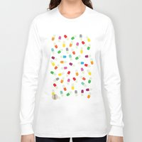 the cure Long Sleeve T-shirts featuring Pill cure by  R U A L E G R E