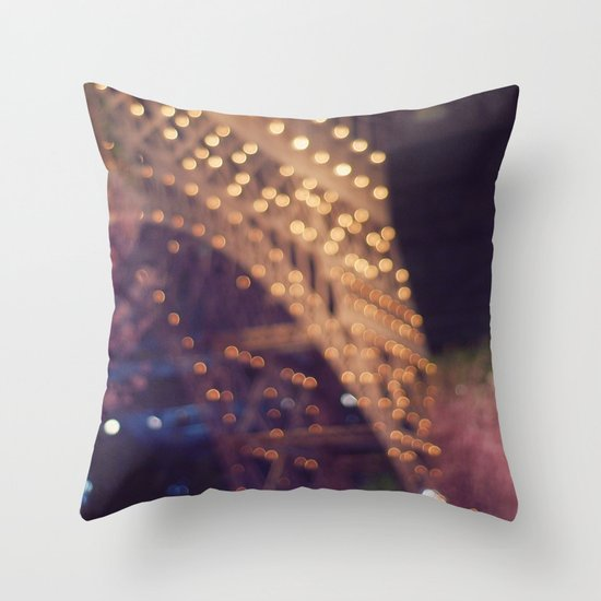 Paris (Delusion) Throw Pillow