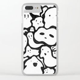 A Freight of Ghosts Clear iPhone Case
