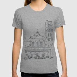 Basilica di Santa Cecilia in Trastevere T-shirt