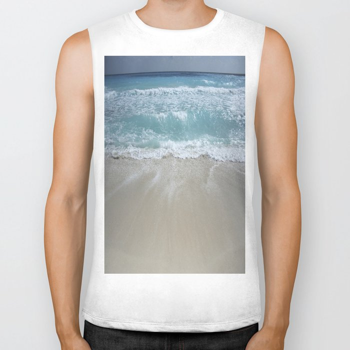 Carribean sea 5 Biker Tank