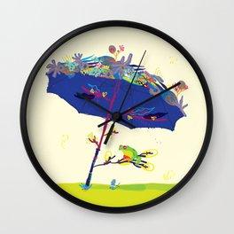 Summer Nap Wall Clock