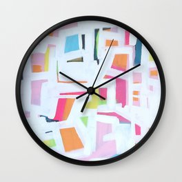 PiLLOWFiGHT Wall Clock