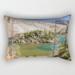 Colorado Pictures - Lake Agnes Rectangular Pillow