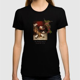 Pet Lover Christmas Greeteengs T-shirt