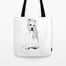 Miss Boxer Tote Bag