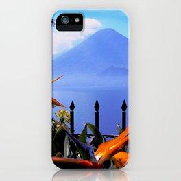 Lago Atitlan, Guatemala iPhone Case