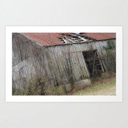 Barn Day Photography Art Print