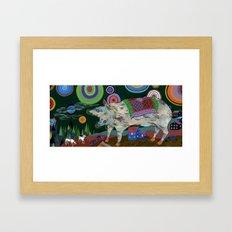 Great Protector Framed Art Print