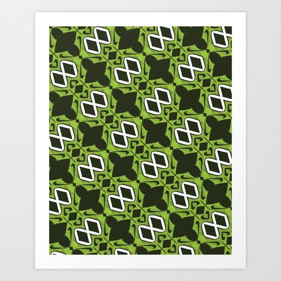Nike Flyknit Print Design  Art Print