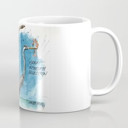 Mississippi Great Blue Heron Coffee Mug