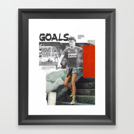 Football Fashion #16 Framed Art Print