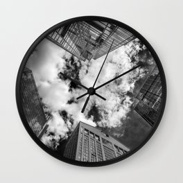 Views of New York. Wall Clock
