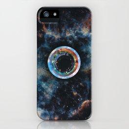 Hawking radiation (tribute to Stephen Hawking) iPhone Case