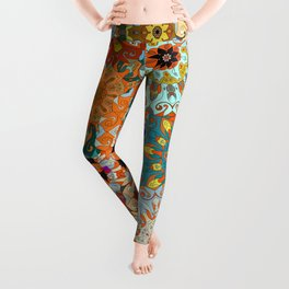 Boho Mandela Pattern 1 Leggings
