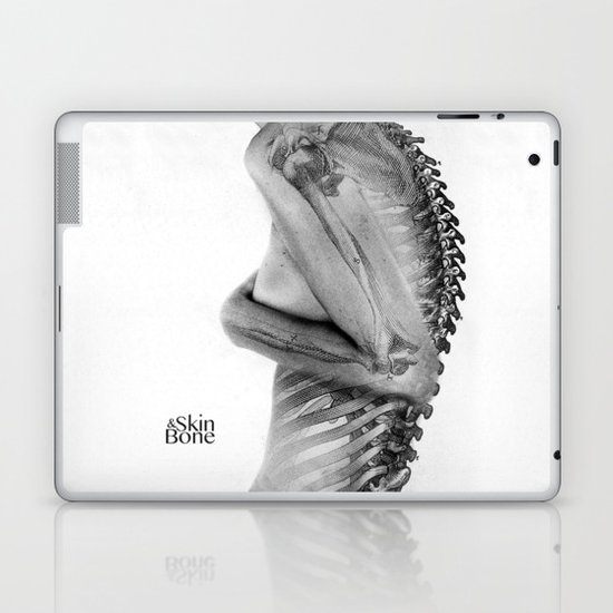 Skin & Bone Laptop & iPad Skin