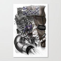 BounD Issue #2 Cover (large logo) Canvas Print