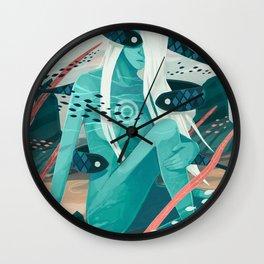 Heavy water Wall Clock