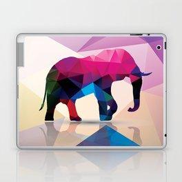 Geometric elephant Laptop & iPad Skin