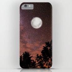 silver moon iPhone 6s Plus Slim Case