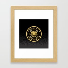 GERMANY Gold Champions Framed Art Print