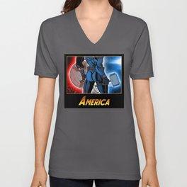 America's Ass Unisex V-Neck