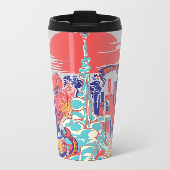 Smash! Zap!! Zooom!! - Generic Spacecraft Metal Travel Mug