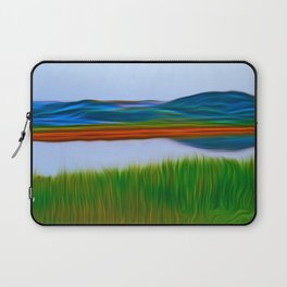 Over the Lake Laptop Sleeve