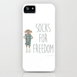 Socks for Freedom iPhone Case