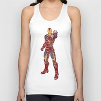 ironman Tank Tops featuring Ironman by PlayWithFireDieInIce