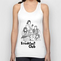 breakfast club Tank Tops featuring The Breakfast Club by Claire Coleman