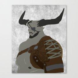 The Iron Bull Canvas Print