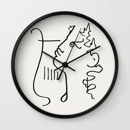 Poster-Jean Cocteau-Orpheus 2. Wall Clock