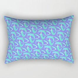 3D Line Rectangular Pillow