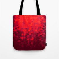 blood Tote Bags featuring Blood by T.Fischer