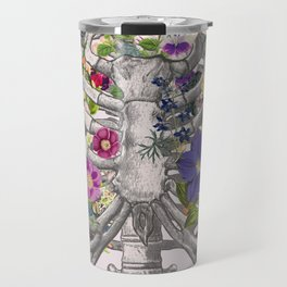 Ribs and flowers Travel Mug