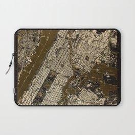 Central Park 1947, old vintage map, map poster new york Laptop Sleeve