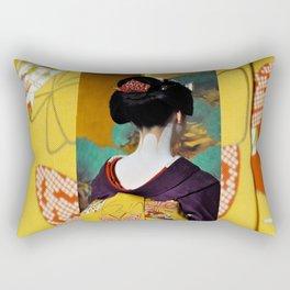 Geisha Maiko II Rectangular Pillow