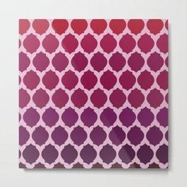 Morocco- Purple&Pink Metal Print