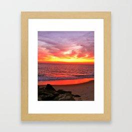 untouchable fire Framed Art Print
