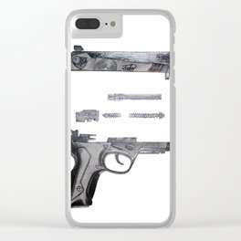 Cupid's Gun Clear iPhone Case