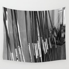 Archery Practice Wall Tapestry