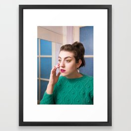 POP Beauty Framed Art Print