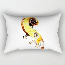 Jazz Contrabass Neck Rectangular Pillow