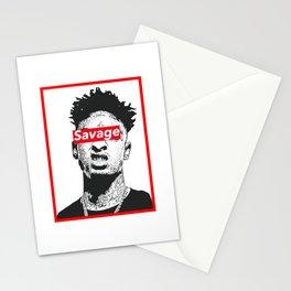 FREE 21 SAVAGE Stationery Cards