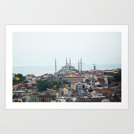 Blue Mosque - Istanbul, Turkey Art Print
